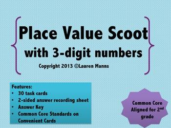 3-Digit Place Value Scoot
