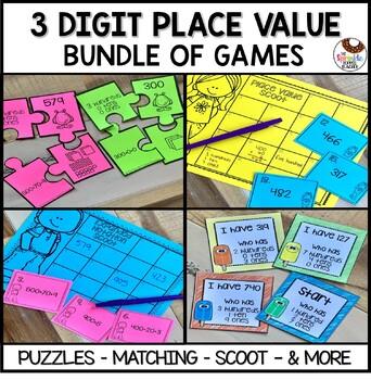 3 Digit Place Value Mega Bundle