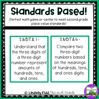 Comparing 3-Digit Numbers