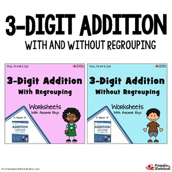 Blank Addition Worksheet Teaching Resources | Teachers Pay Teachers
