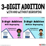 Practice Adding With Missing Parts, Addition Of 3 Digit Numbers Worksheets