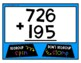 3 Digit Regrouping Movement {Addition Version} - Interactive Game
