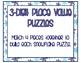 3-Digit Snowflake Number Value Practice Puzzles