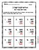 3 Digit Subtraction Across Zeroes