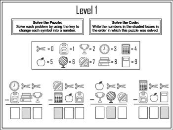 3 Digit Subtraction Across Zeros Activity: Escape Room Math