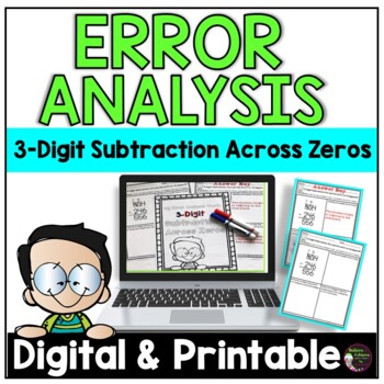 3-Digit Subtraction Across Zeros: Error Analysis