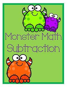 3 Digit Subtraction Cards
