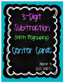3-Digit Subtraction Center Cards (2.NBT.7)