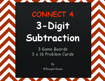 3-Digit Subtraction - Connect 4 Game
