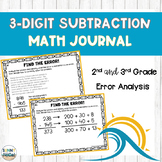 3 Digit Subtraction Error Analysis