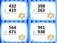 3-Digit Subtraction Hanukkah Theme Task Cards: 24 Cards: G