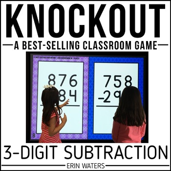 3-Digit Subtraction KNOCKOUT