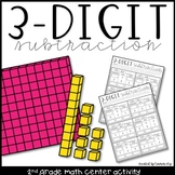 3-Digit Subtraction Math Center Activity