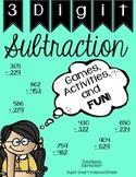 3 Digit Subtraction Practice - Games, Activities, & FUN!