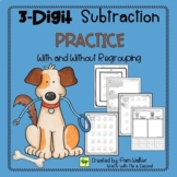 3 Digit Subtraction Practice With and Without Regrouping