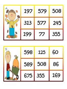 3 Digit Subtraction Regrouping