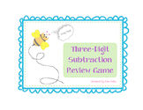 3 Digit Subtraction Review Game