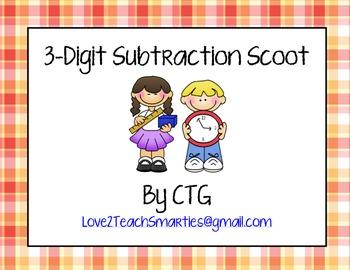 3-Digit Subtraction Scoot