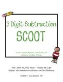 3 Digit Subtraction Scoot