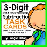 3-Digit Subtraction Task Cards