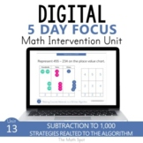 3 Digit Subtraction With Regrouping | Digital Math Unit Go