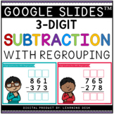 3 Digit Subtraction With Regrouping Google Slides Digital Activity