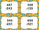 3 Digit Subtraction Without Regrouping Task Cards