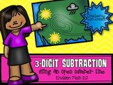 3-Digit Subtraction with Open Number Line Packet