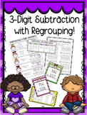 3-Digit Subtraction with Regrouping Bundle!