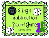3 Digit Subtraction with Regrouping Game