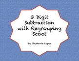 3 Digit Subtraction with Regrouping Scoot