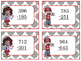 3 Digit Subtraction {without regrouping} Task Cards - Valentine's Day Themed