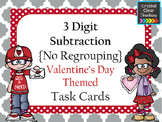 3 Digit Subtraction {without regrouping} Task Cards - Vale