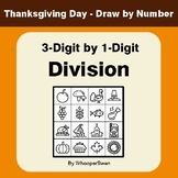 Thanksgiving Math: 3-Digit by 1-Digit Division - Math & Ar