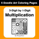 3-Digit by 1-Digit Multiplication - Coloring Pages | Doodl