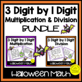 3 Digit by 1 Digit Multiplication and Division Task Cards