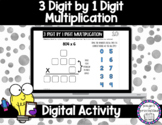 3 Digit by 1 Digit Multiplication for Google™ Classroom |