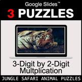 3-Digit by 2-Digit Multiplication - Google Slides - Jungle