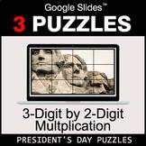 3-Digit by 2-Digit Multiplication - Google Slides - Presid