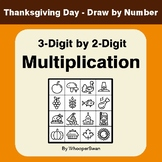 3-Digit by 2-Digit Multiplication - Thanksgiving Day Math