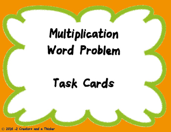 3 Digit by 2 Digit Multiplication Word Problems