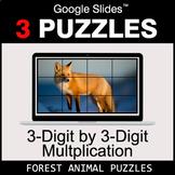 3-Digit by 3-Digit Multiplication - Google Slides - Forest