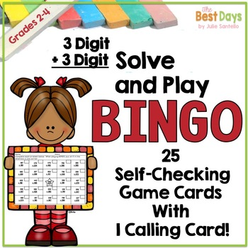 3 Digit by 3 Digit Addition with Regrouping Bingo