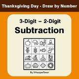 Thanksgiving Math: 3-Digit - 2-Digit Subtraction - Math &