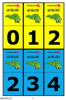 3-Digit to 9 Addition Worksheets and Full Color Game