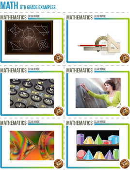 3-Dimensional Augmented Reality Images - 6th Grade Math