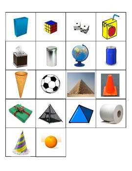 3-Dimensional Shape Book - Common Core Aligned
