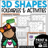 3D Shapes Activities - Geometry Interactive Notebook