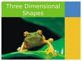 3 Dimensional Shape PowerPoint and Journal Activity