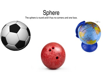 3 Dimensional Shapes Examples of shapes